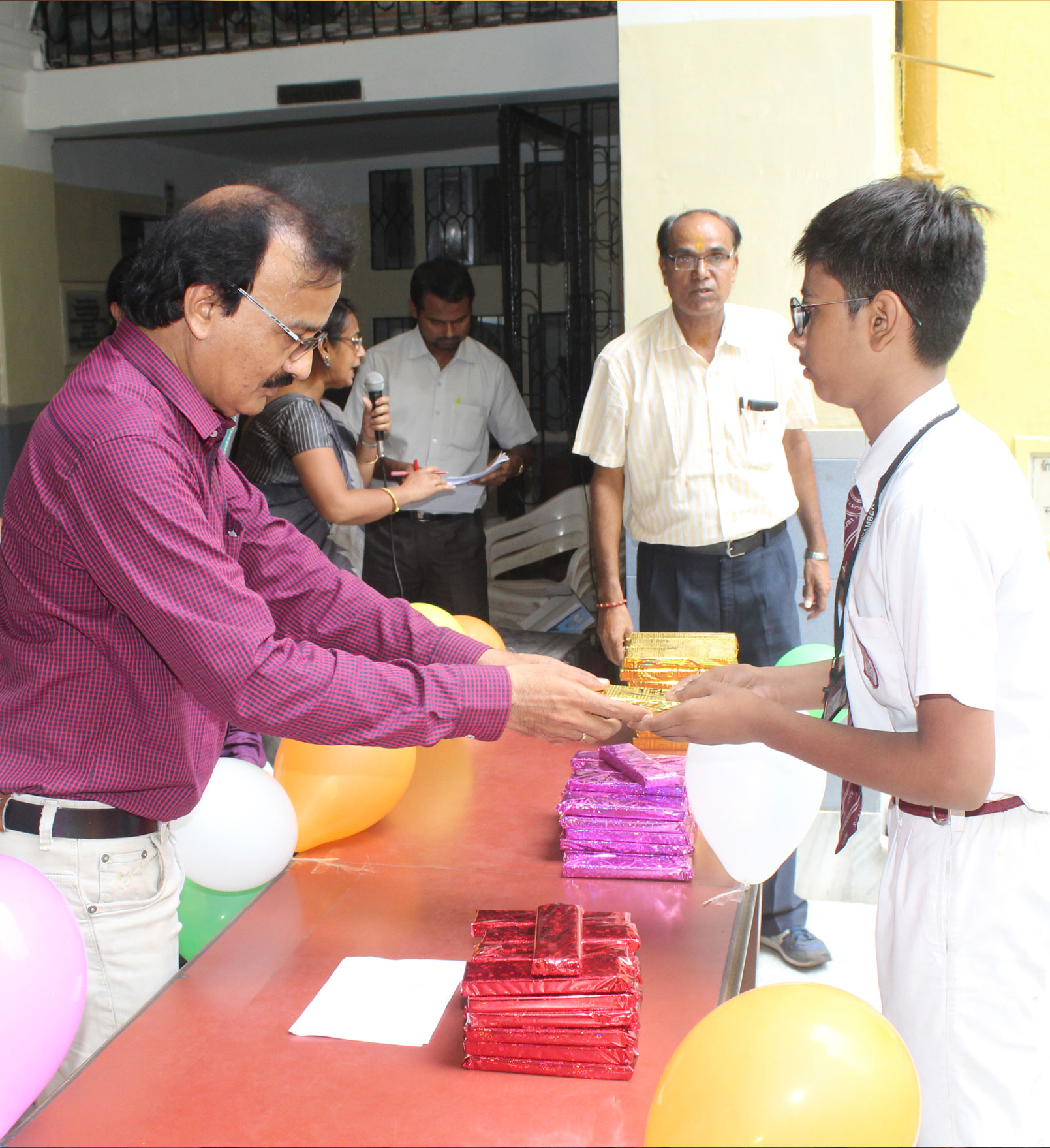 Prizes for Examination Topper